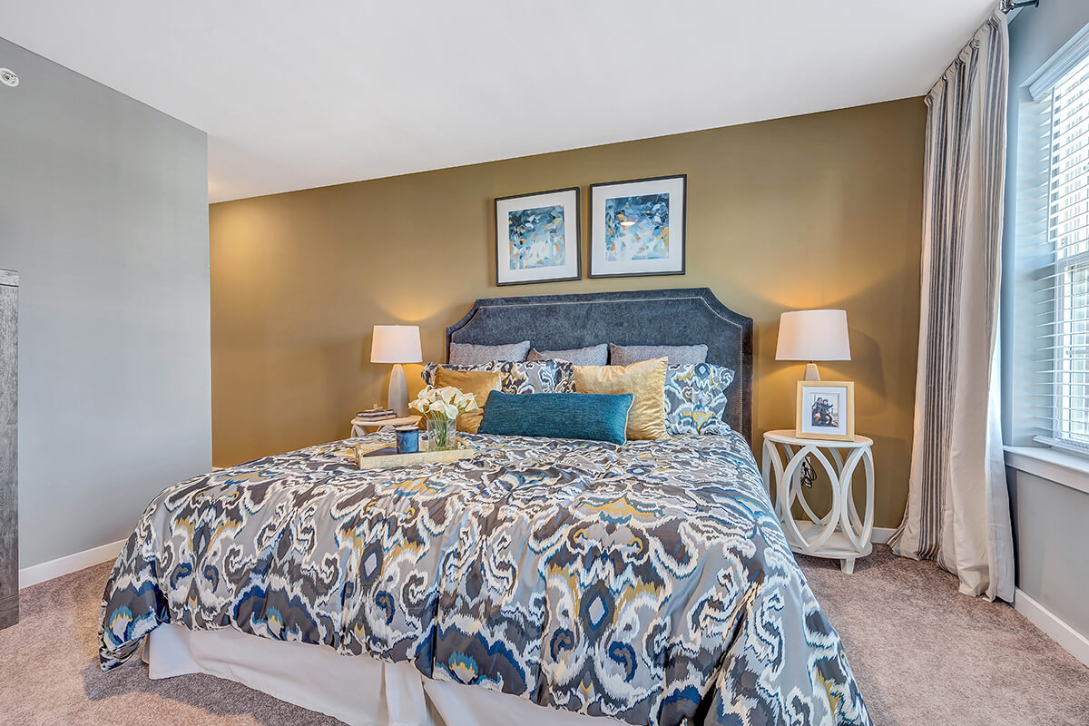 Bedroom at the River Links.